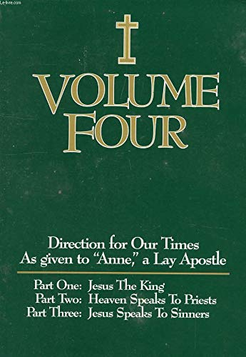 9780976684138: Direction for Our Times, Vol. 4: Jesus the King