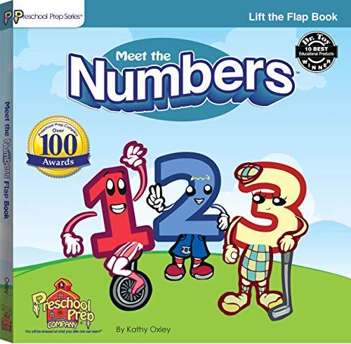 9780976700814: Meet the Numbers Lift the Flap Book