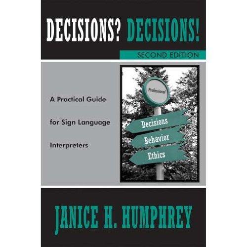 9780976713289: DECISIONS? DECISIONS!...SIGN L