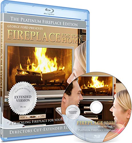 9780976731092: Fireplace DVD For Your Home Series - Platinum Edition - Burning Wood - Long Play Blu-ray
