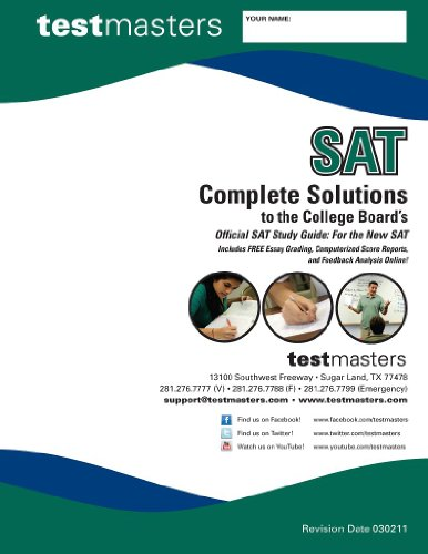 Complete Solutions to the College Board's Official SAT Study Guide: For the New SAT (Test ...