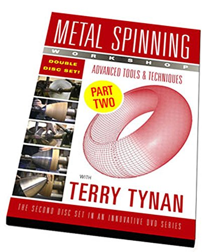 """9780976788614: Metal Spinning Workshop DVD """"Advanced Tools & Techniques"""""""