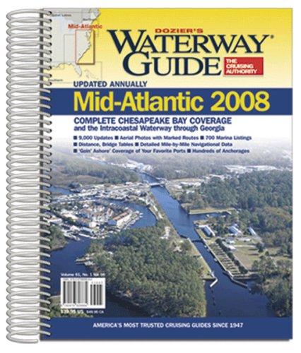 9780976806684: Waterway Guide Mid-Atlantic 2008 (Waterway Guide. Intracoastal Waterway Edition)