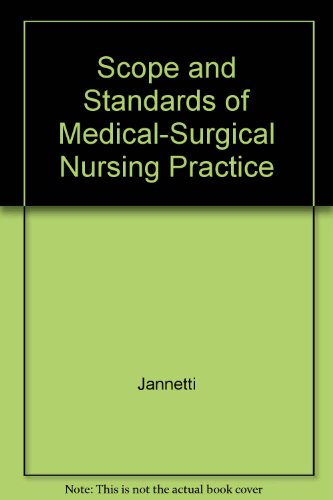 9780976812500: Scope and Standards of Medical-Surgical Nursing Practice