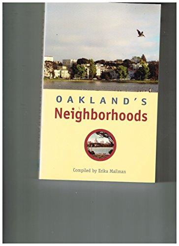 Oakland's Neighborhoods: Erika Mailman