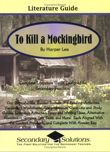 9780976817765: Literature Guide: To Kill a Mockingbird
