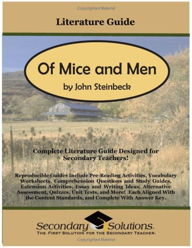 9780976817772: Literature Guide: Of Mice and Men