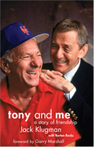 "Tony and Me: A Story of Friendship, with DVD of ""The Odd Couple"" out-takes, 1971-75: ..."
