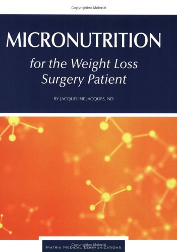 Micronutrition for the Weight Loss Surgery Patient