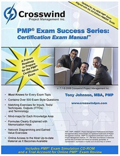 9780976866053: PMP Exam Success Series: Certification Exam Manual with CD-ROM