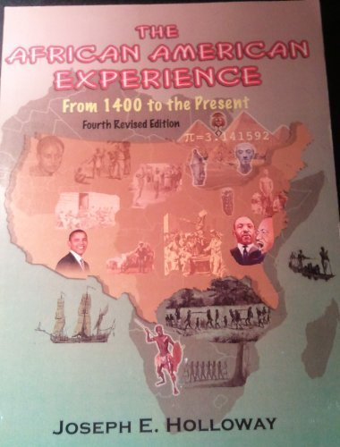 9780976876199: The African American Experience (From 1400 to the Present)