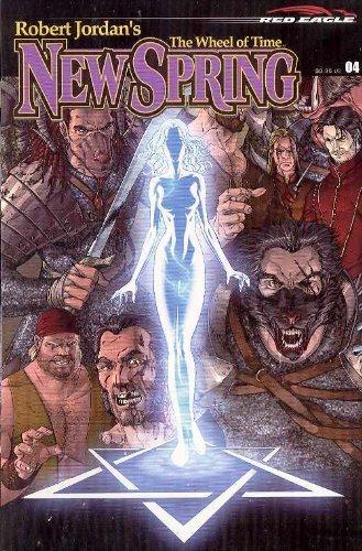 Robert Jordan's New Spring #4 comic (Red Eagle) (Wheel of Time, New Spring #4): Jordan, Robert