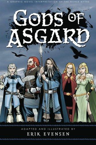 9780976902522: Gods of Asgard: A graphic novel interpretation of the Norse myths