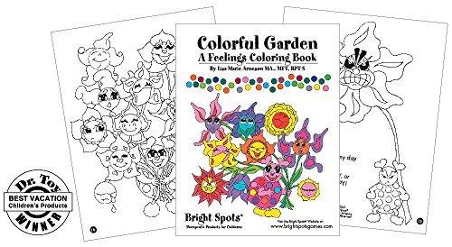colorful garden a feelings coloring book lisa marie arneson - Feelings Coloring Book