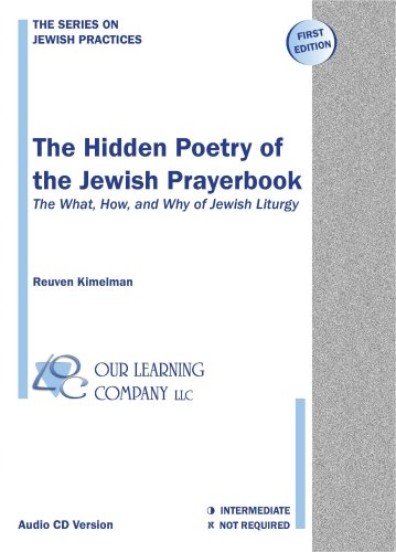 9780976933014: The Hidden Poetry of the Jewish Prayerbook - The What, How, and Why of Jewish Liturgy (audio only edition)