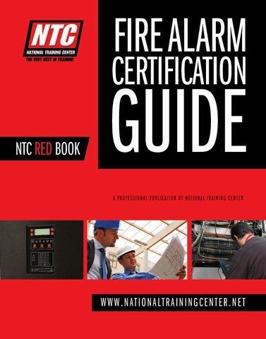 NTC Red Book NICET Testing and Study Guide: National Training Center