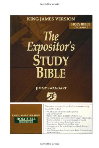 The Expositor's Study Bible KJVersion/Concordance (0976953005) by Jimmy Swaggart