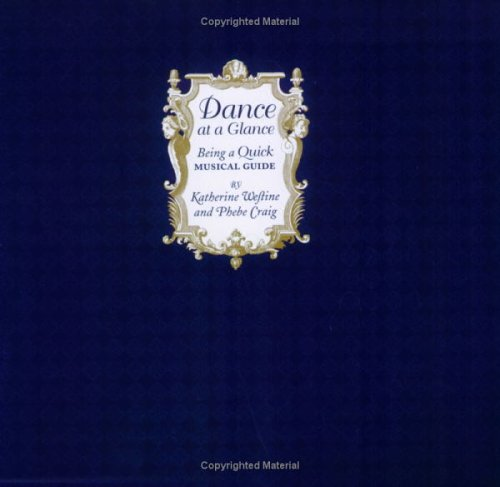 9780976969808: Dance at a Glance