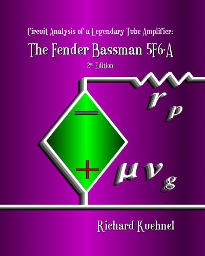 9780976982210: Circuit Analysis of a Legendary Tube Amplifier: The Fender Bassman 5F6-A, Second Edition