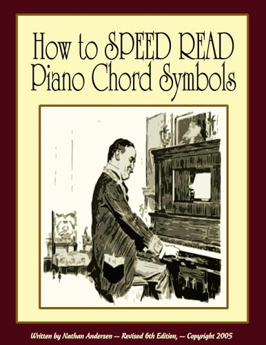 9780976983705: How to Speed Read Piano Chord Symbols