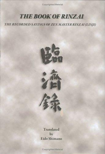 9780976989400: The Book of Rinzai