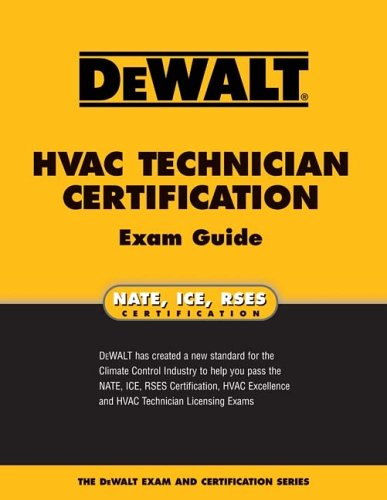 DEWALT HVAC Technician Certification Exam Guide