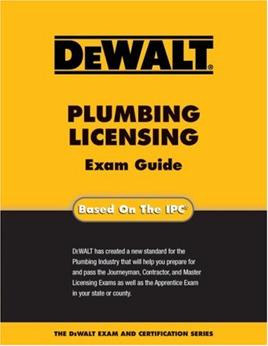 9780977000364: DEWALT Plumbing Licensing Exam Guide