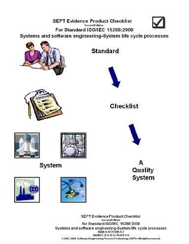 SEPT Evidence Product Checklist for ISO/IEC Standard 15288:2008-Systems and Software ...