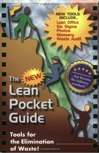 The NEW Lean Pocket Guide: Don Tapping, Chris Tapping (Editor), Susan Kurtz (Illustrator)