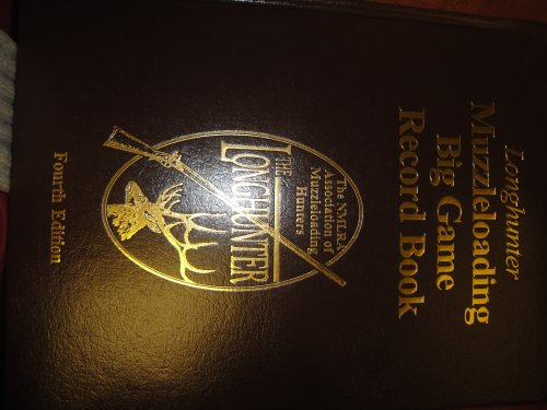 Longhunter Muzzleloading Big Game Record Book