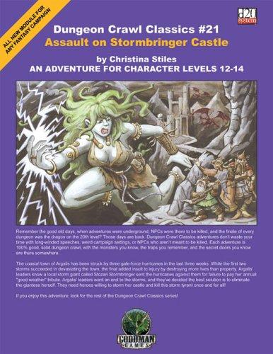 9780977073818: Dungeon Crawl Classics #21: Assault on Stormbringer Castle