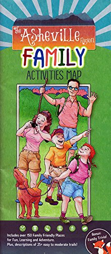 9780977091584: The Asheville Region Family Activities Map