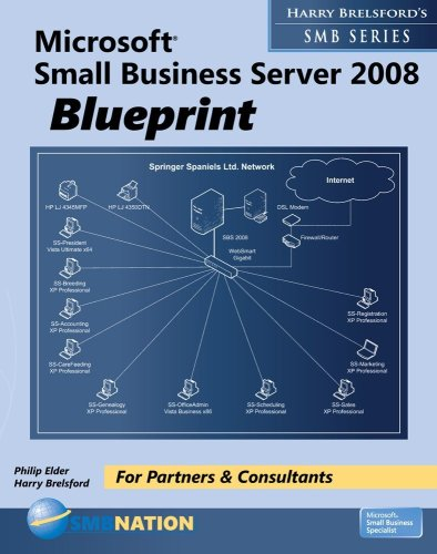 9780977094998: Microsoft Small Business Server 2008 Blueprint (Harry Brelsford's SMB)