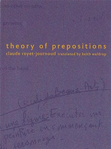 9780977106417: Theory of Prepositions