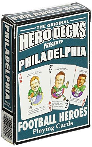 9780977110711: Philadelphia Football Heroes Playing Cards