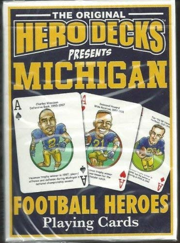 9780977110728: Michigan Heroes Playing Cards