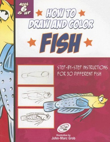 9780977111701: How To Draw And Color Fish