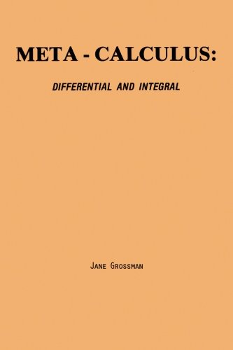9780977117024: Meta-Calculus: Differential and Integral
