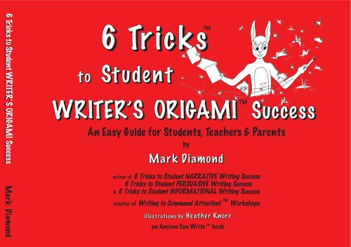 9780977147038: 6 Tricks to Student WRITER'S ORIGAMI Success