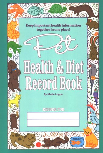 9780977174218: Pet Health and Diet Record Book