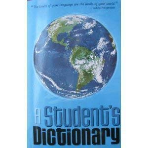 9780977177721: A Student's Dictionary & Gazetteer