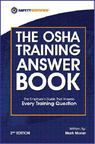 9780977221424: The OSHA Training Answer Book 2nd Edition