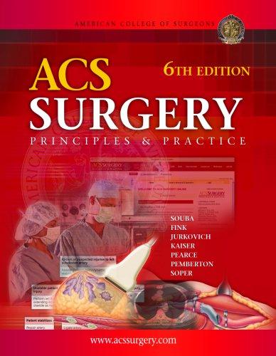 9780977222629: ACS Surgery: Principles & Practice, 6th Edition