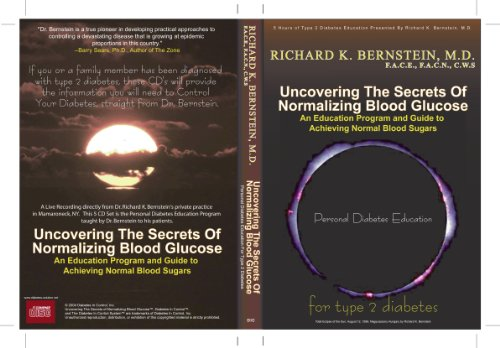 9780977254811: Dr. Bernstein's Secrets to Normal Blood Sugars (For Type 1 Diabetes, Volume 1) [ILLUSTRATED] (Audio CD)