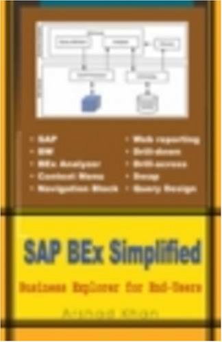 9780977283828: SAP BEx Simplified: Business Explorer for End-Users