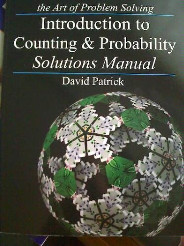 9780977304516: The Art of Problem Solving/ Introduction to Counting & Probability Solutions Manual