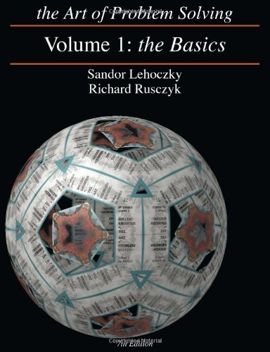 The Art of Problem Solving, Vol. 1: Lehoczky, Sandor; Rusczyk,