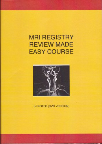 9780977314867: MRI Registry Review Made Easy Course: LJ Notes (DVD Version)