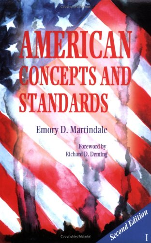 9780977356201: American Concepts and Standards