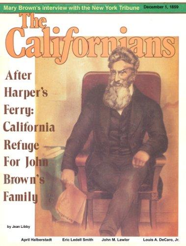 9780977363827: John Brown's Family in California